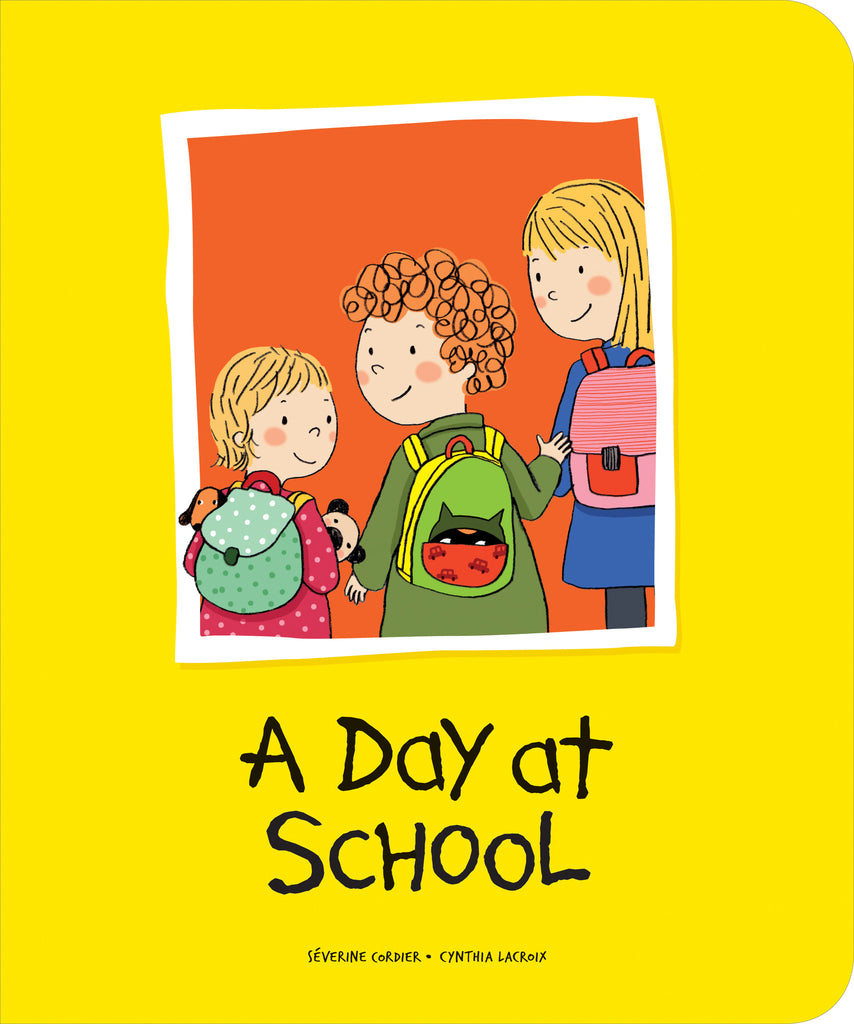 A Day at School - Owlkids - Reading for kids and literacy resources for parents made fun. Books helping kids to learn.