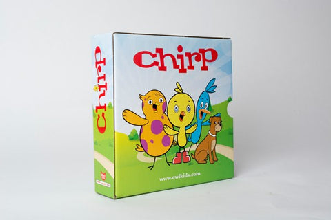 Chirp Magazine Holder - Owlkids - Reading for kids and literacy resources for parents made fun. Books helping kids to learn. - 2