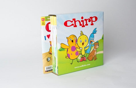 Chirp Magazine Holder - Owlkids - Reading for kids and literacy resources for parents made fun. Books helping kids to learn. - 1
