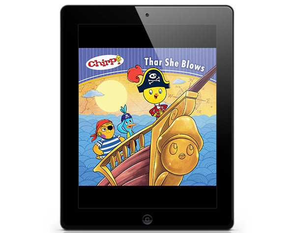 Chirp: Thar She Blows - ebook - Owlkids - Reading for kids and literacy resources for parents made fun. Books_Digital helping kids to learn.