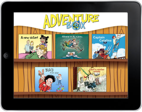 AdventureBox: Five-Amazing-Stories Pack #2 - Owlkids - Reading for kids and literacy resources for parents made fun. Books_Digital helping kids to learn. - 1