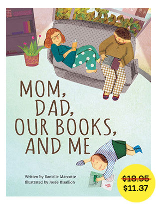 Mom, Dad, Our Books, and Me // fall sale - Owlkids - Reading for kids and literacy resources for parents made fun. Books helping kids to learn.