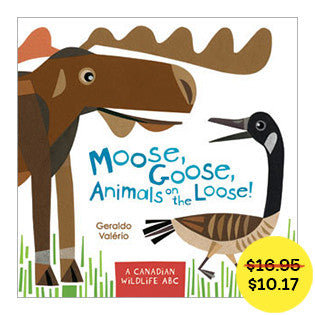 Moose, Goose, Animals on the Loose! // fall sale - Owlkids - Reading for kids and literacy resources for parents made fun. Books helping kids to learn.