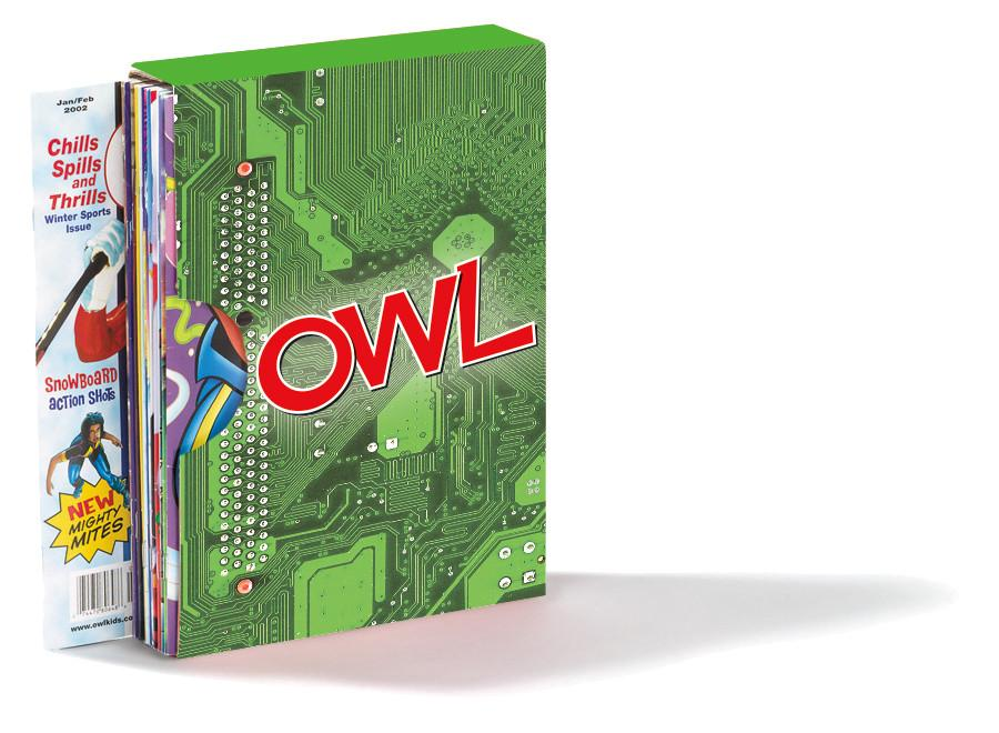 OWL Magazine Holder // OWL Quiz Fun Package