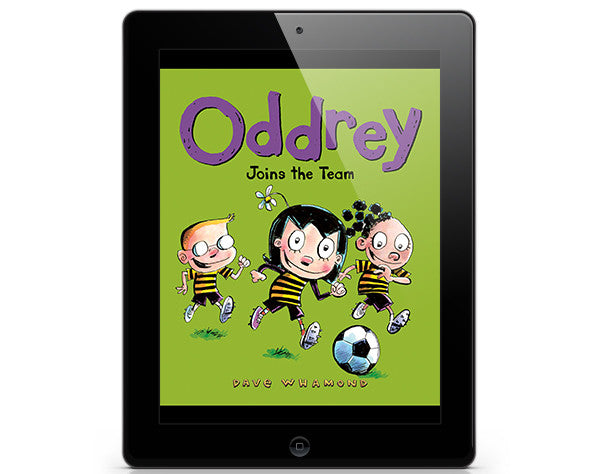 Oddrey Joins the Team - ebook - Owlkids - Reading for kids and literacy resources for parents made fun. Books_Digital helping kids to learn.