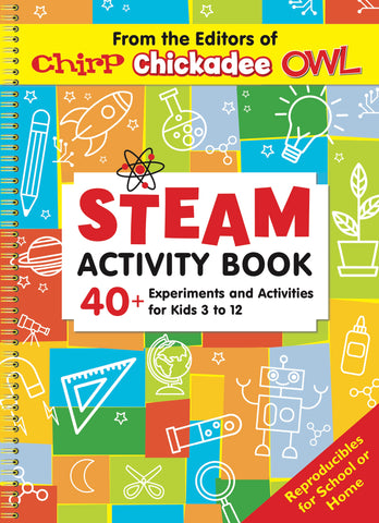 STEAM Activity Book // Chirp Fun