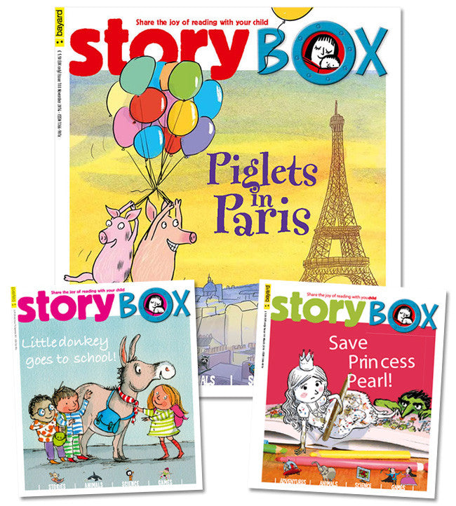StoryBox Magazine: ages 3 - 6 - Owlkids - Reading for kids and literacy resources for parents made fun. Magazines-MSG helping kids to learn.