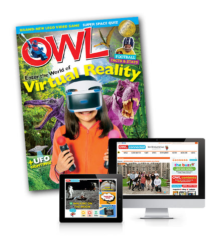OWL Magazine: ages 9-13 *Black Friday Special Offer*