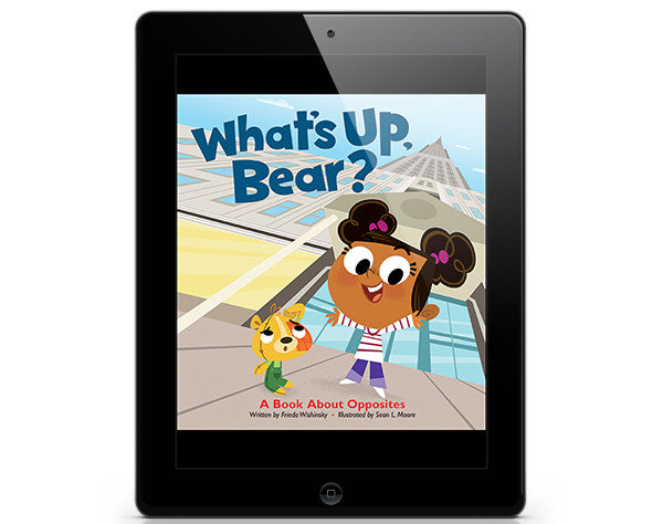 What's Up, Bear? - ebook - Owlkids - Reading for kids and literacy resources for parents made fun. Books_Digital helping kids to learn.