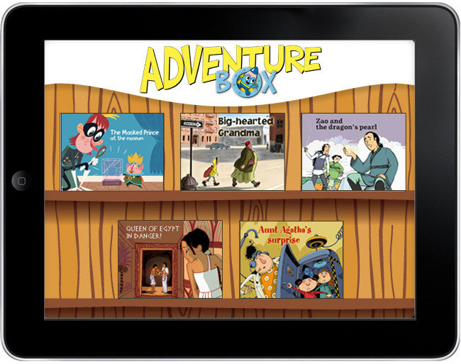 AdventureBox: Five Amazing Stories Pack #1 - ebook - Owlkids - Reading for kids and literacy resources for parents made fun. Books_Digital helping kids to learn. - 1