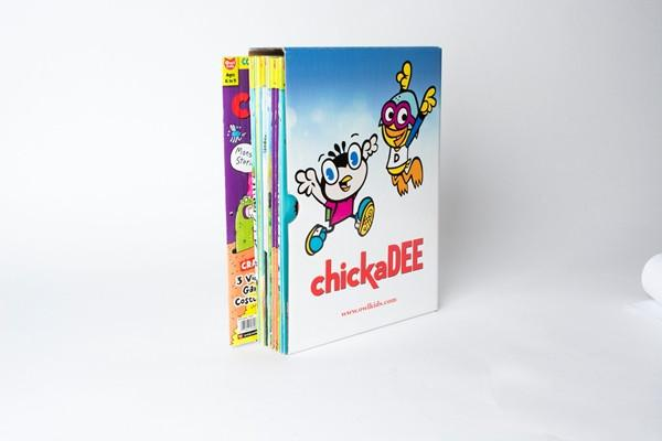 Chickadee Magazine Holder // Chickadee Puzzles & Fun Package