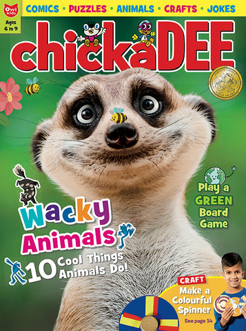 Chickadee Magazine: ages 6-9 // Canoe Kids