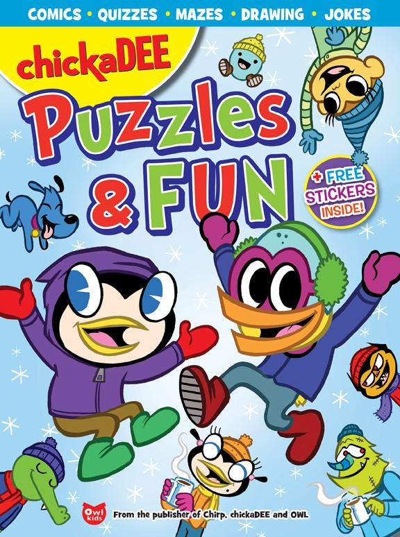 chickaDEE Puzzles & Fun Vol. 2 // Chickadee Winter Bundle