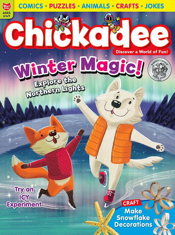 Chickadee Magazine - December 2020