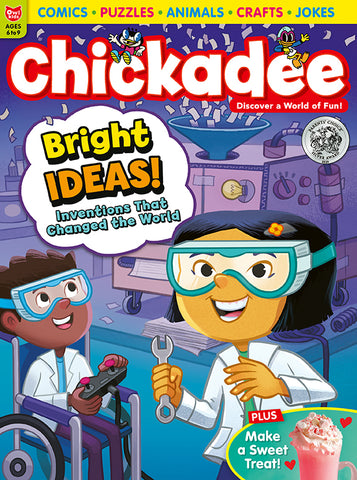 Chickadee Magazine - January/February 2021