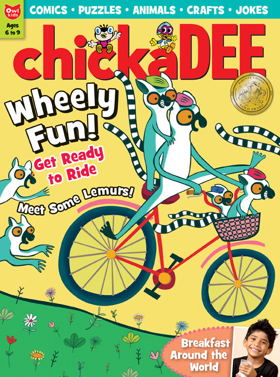 chickaDEE Magazine - May 2016 - Owlkids - Reading for kids and literacy resources for parents made fun. Books helping kids to learn.