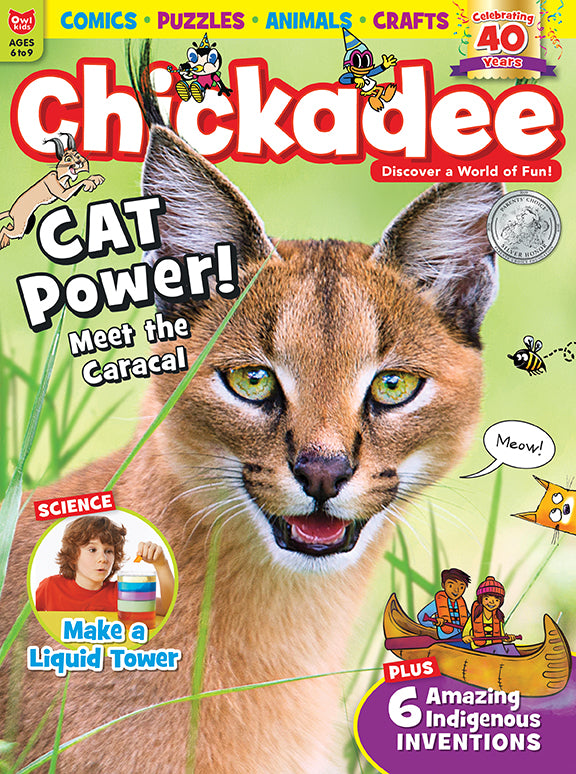 Chickadee Magazine - May 2019