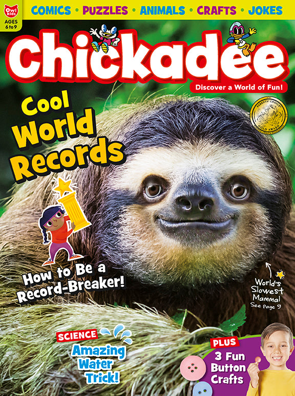 Chickadee Magazine - November 2018