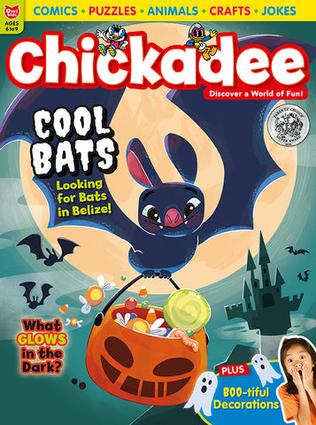Chickadee Magazine - October 2020