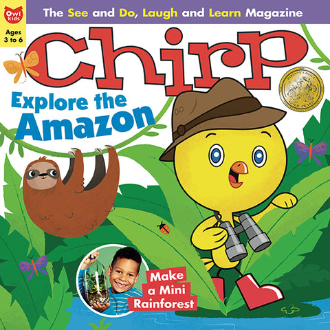 Chirp Magazine - April 2018