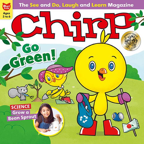 Chirp Magazine - April 2021