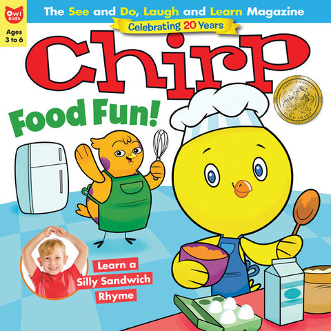 Chirp Magazine - January/February 2017