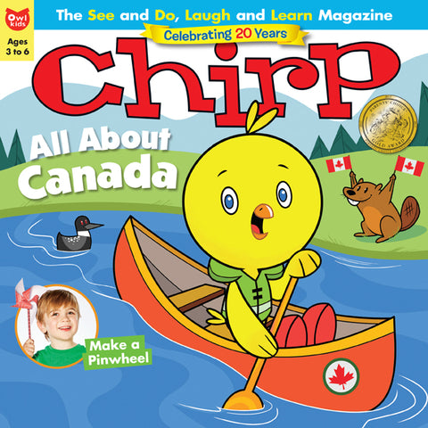 Chirp Magazine: ages 3-6 *Boxing Week*