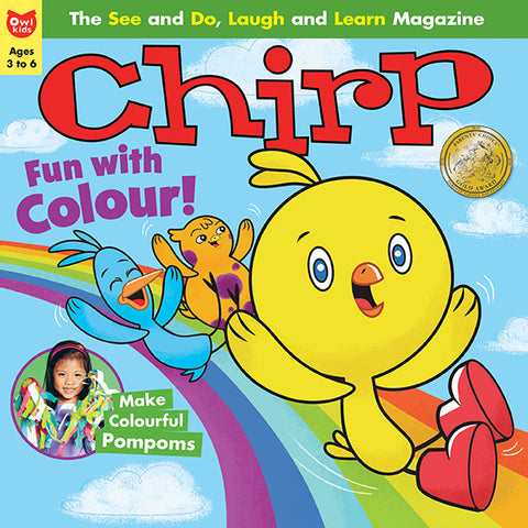 Chirp Magazine - March 2018