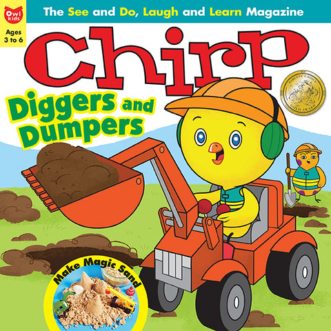Chirp Magazine: ages 3-6 // ON the GO