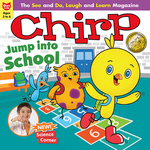 Chirp Magazine - September 2018