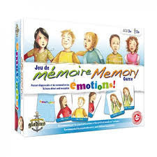 Memory Game Emotions - Owlkids - Reading for kids and literacy resources for parents made fun. Books helping kids to learn. - 1