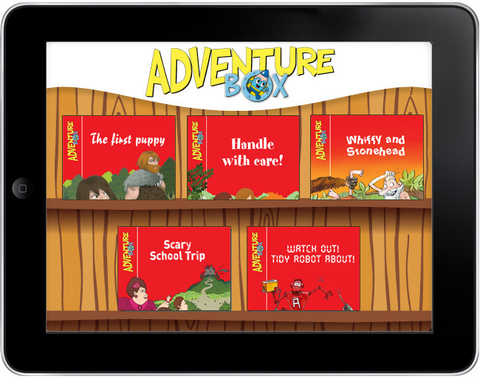 AdventureBox: Five-Amazing-Stories Pack #3 - ebook
