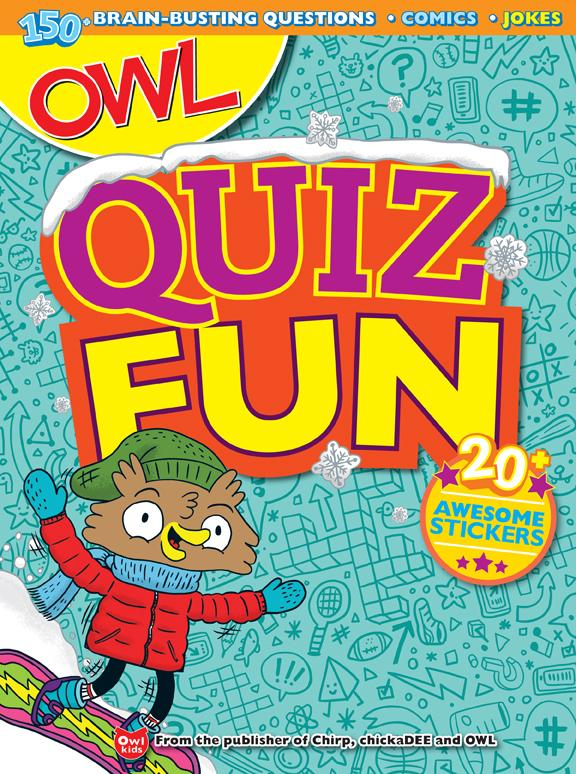 OWL Quiz Fun // OWL Gift Bundle - size M