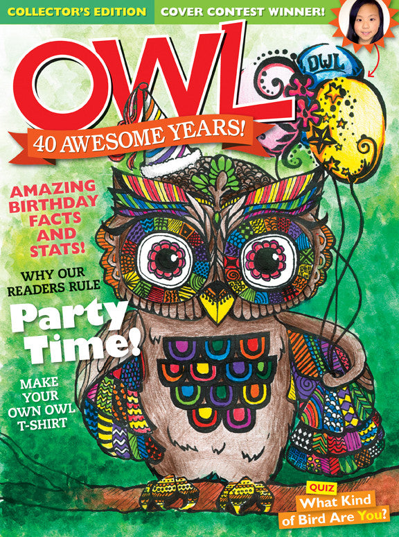 OWL Magazine - June 2016 - Owlkids - Reading for kids and literacy resources for parents made fun. Books helping kids to learn.