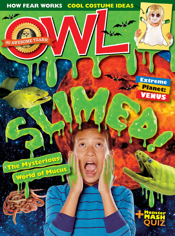 OWL Magazine - October 2016 - Owlkids - Reading for kids and literacy resources for parents made fun. Books helping kids to learn.