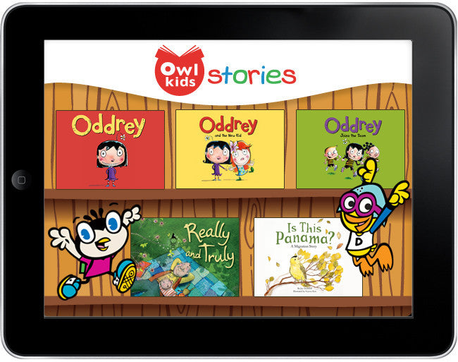 Owlkids Stories: Oddrey - ebook - Owlkids - Reading for kids and literacy resources for parents made fun. Books_Digital helping kids to learn. - 1