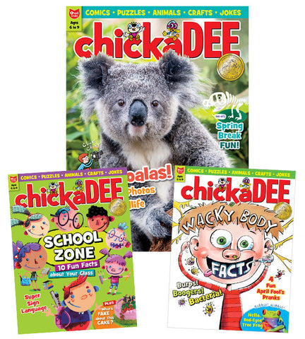 chickaDEE Magazine: ages 6-9 - Owlkids - Reading for kids and literacy resources for parents made fun. Magazines helping kids to learn. - 1