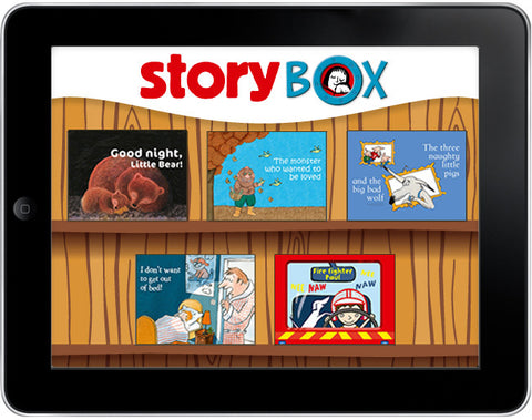 StoryBox: Five Bedtime Stories Pack #1 - ebook - Owlkids - Reading for kids and literacy resources for parents made fun. Books_Digital helping kids to learn. - 1