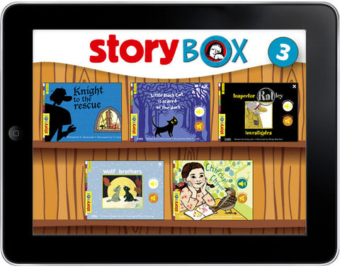 StoryBox: Five Bedtime Stories Pack #3 - ebook