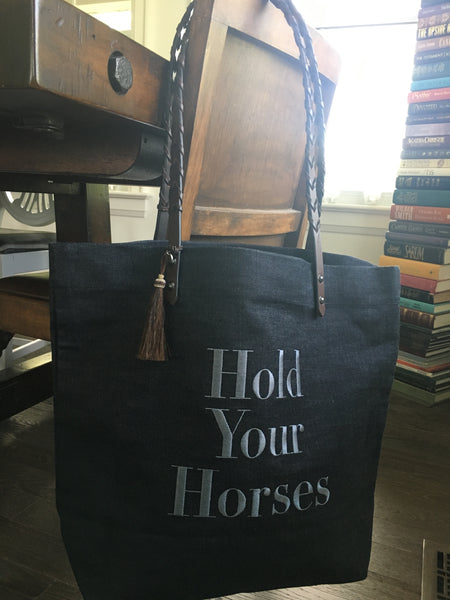Hold Your Horses Tote
