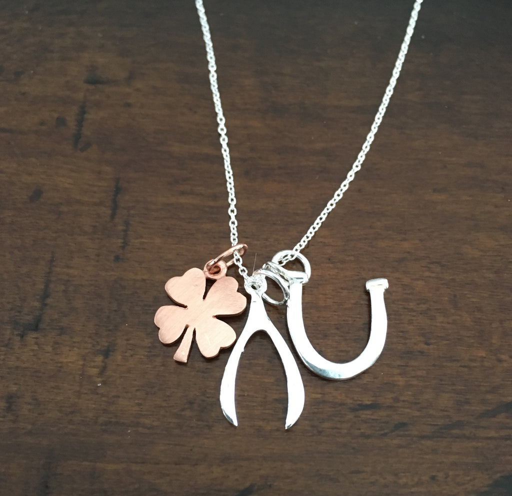 Get Lucky 2 necklace