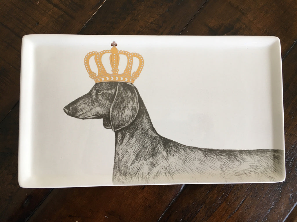 Crowned Dog Plate