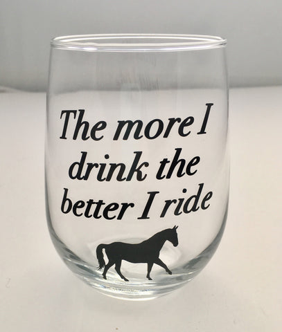 The More I Drink, The Better I Ride