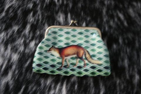 Fox Change Purse