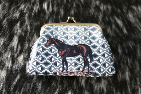 Bay Horse Change Purse