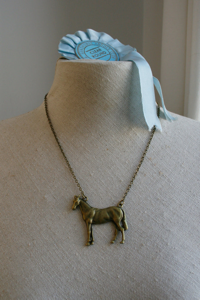 Large Horse Necklace - Sale