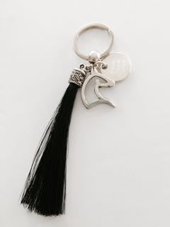 Custom Horse Hair Tassel Key Ring