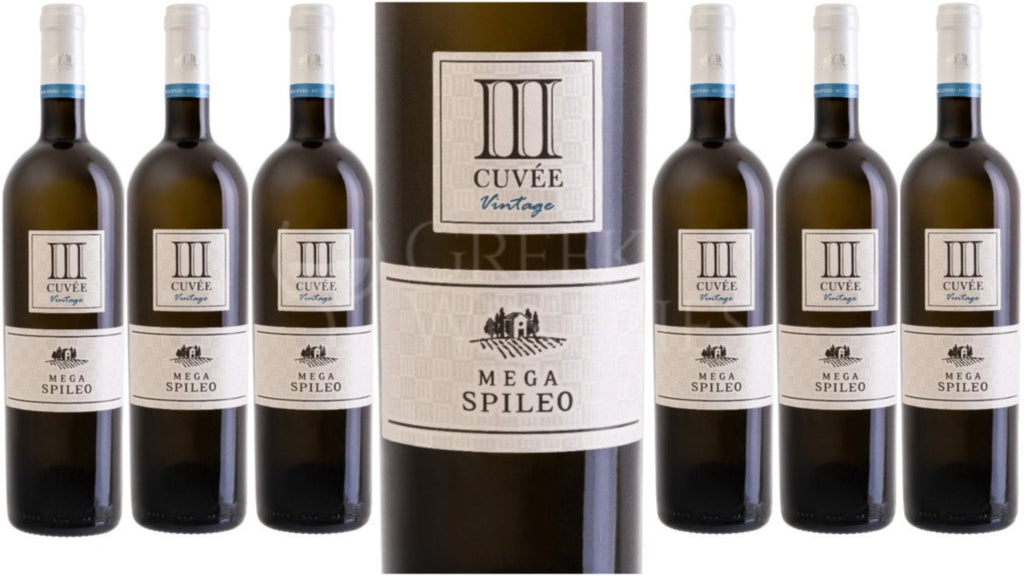 Domain Mega Spileo Cuvee III White now available at LCBO Vintages $17.95 PLUS 5 Bonus Air Miles