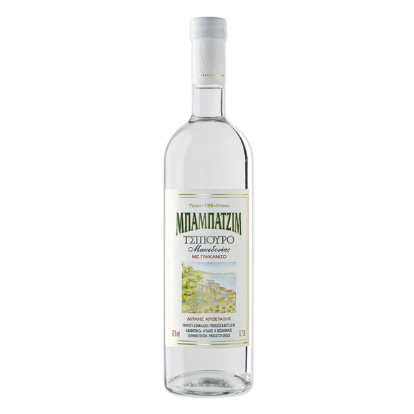 Babatzim Tsipouro With Anise (3 bottle minimum)