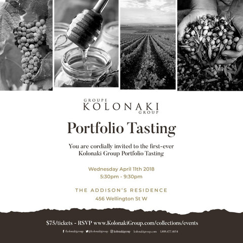 Kolonaki Group Portfolio Tasting Consumer Ticket